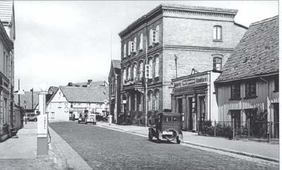 Początek XX wieku, obecna ulica Marynarki Polskiej.